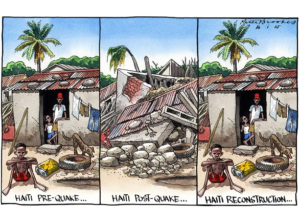 Haiti Cartoon